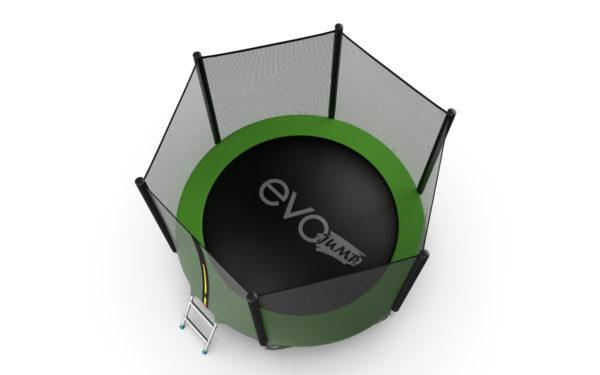 EVO JUMP EXTERNAL 6FT (GREEN) БАТУТ С ВНЕШНЕЙ СЕТКОЙ И ЛЕСТНИЦЕЙ, ДИАМЕТР 6FT (ЗЕЛЕНЫЙ)