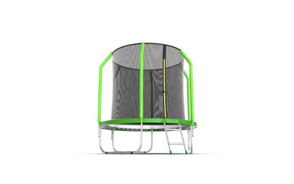 5 - EVO Jump Cosmo 6ft (Green) Батут с внутренней сеткой и лестницей, диаметр 6ft (зеленый).
