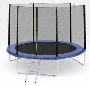 3 - Батут Diamond fitness external 10 FT (305 см) с защитной сеткой и лестницей.