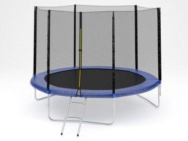 Батут Diamond fitness external 10 FT (305 см) с защитной сеткой и лестницей