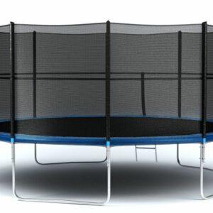 7 - Батут Diamond fitness external 16 FT (488 см) с защитной сеткой и лестницей.