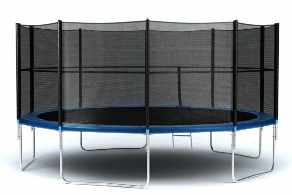 1 - Батут Diamond fitness external 16 FT (488 см) с защитной сеткой и лестницей.
