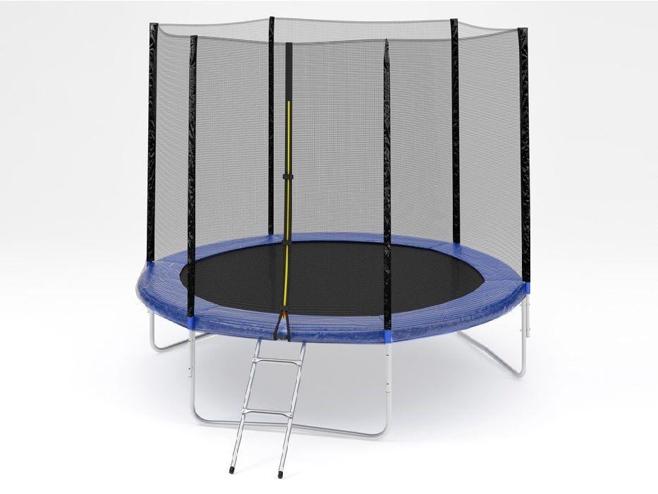Батут Diamond fitness external 6FT (183 см) с защитной сеткой и лестницей
