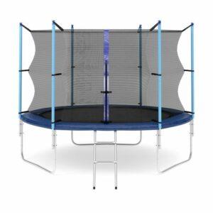 2 - Батут Diamond fitness internal 10 FT (305 см) с защитной сеткой и лестницей.