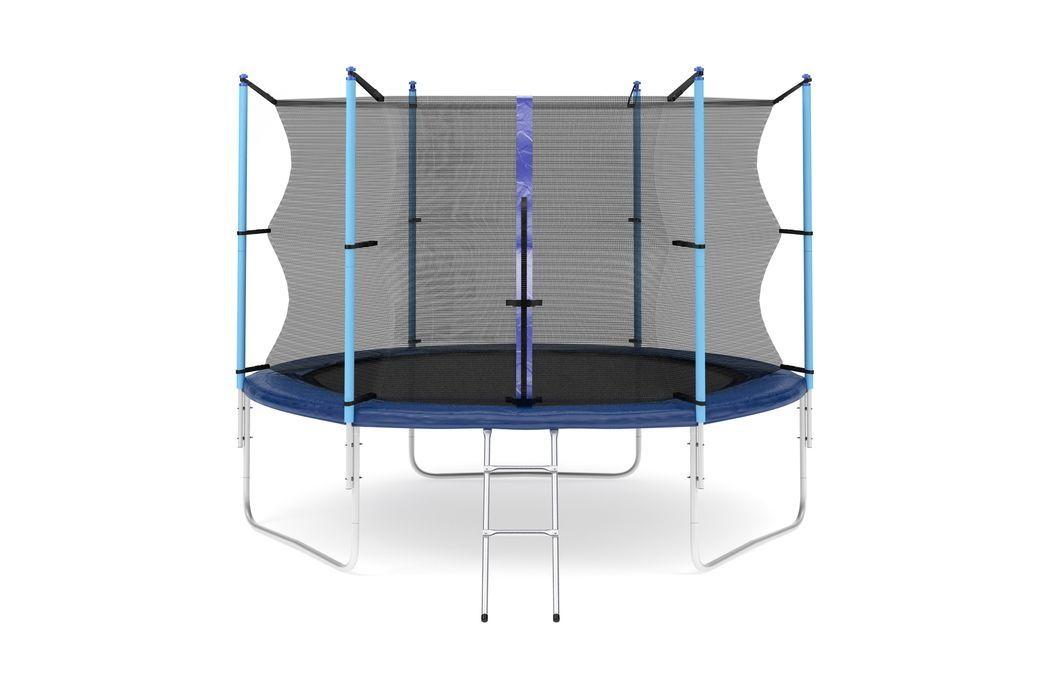 Батут Diamond fitness internal 10 FT (305 см) с защитной сеткой и лестницей