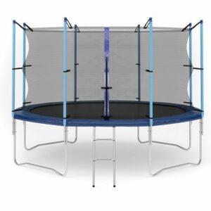 5 - Батут Diamond fitness internal 12 FT (366 см) с защитной сеткой и лестницей.