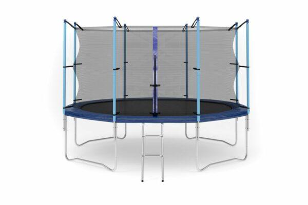 1 - Батут Diamond fitness internal 12 FT (366 см) с защитной сеткой и лестницей.