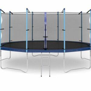 6 - Батут Diamond fitness internal 16 FT (488 см) с защитной сеткой и лестницей.