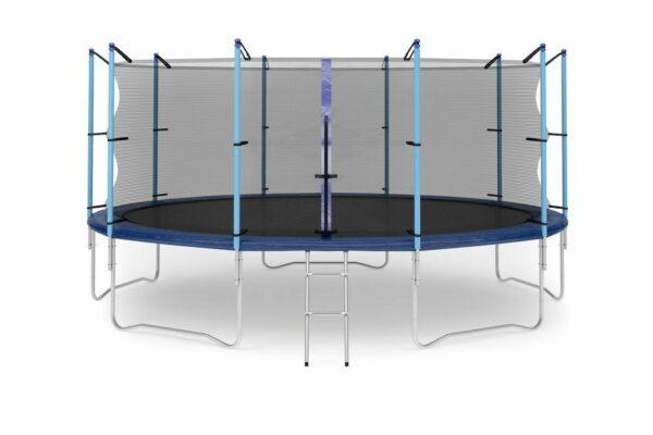 1 - Батут Diamond fitness internal 16 FT (488 см) с защитной сеткой и лестницей.