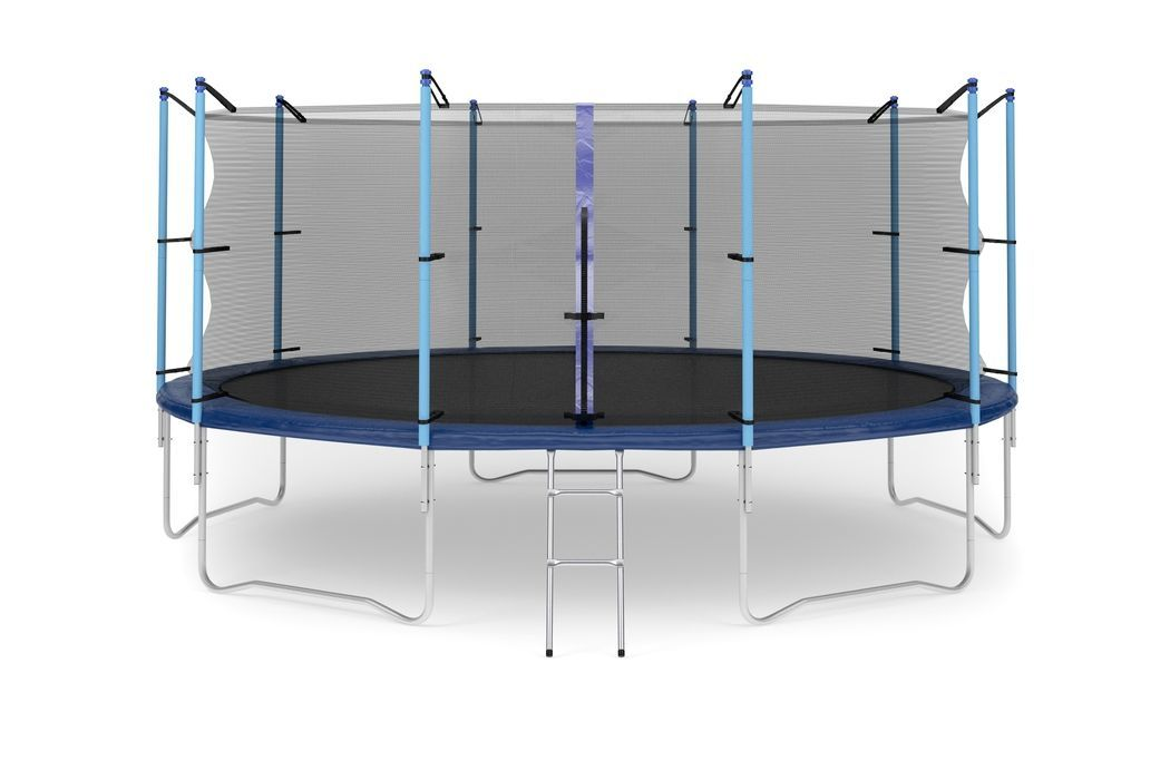 Батут Diamond fitness internal 16 FT (488 см) с защитной сеткой и лестницей