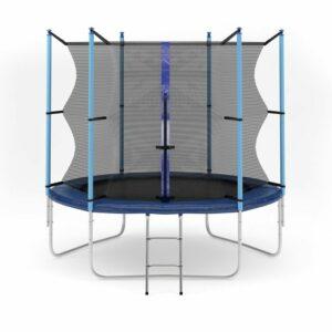 5 - Батут Diamond fitness internal 8 FT (244 см) с защитной сеткой и лестницей.