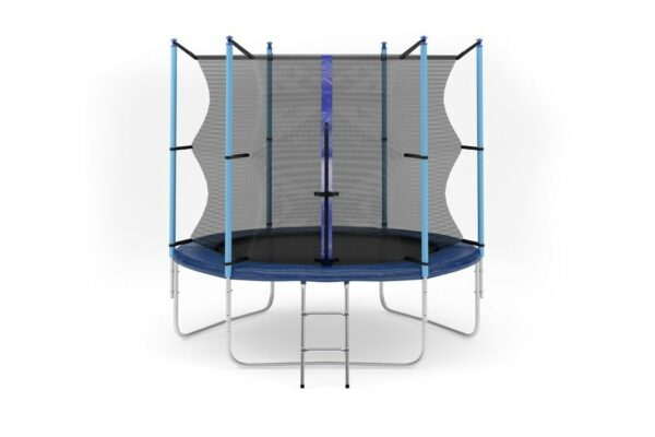 1 - Батут Diamond fitness internal 8 FT (244 см) с защитной сеткой и лестницей.