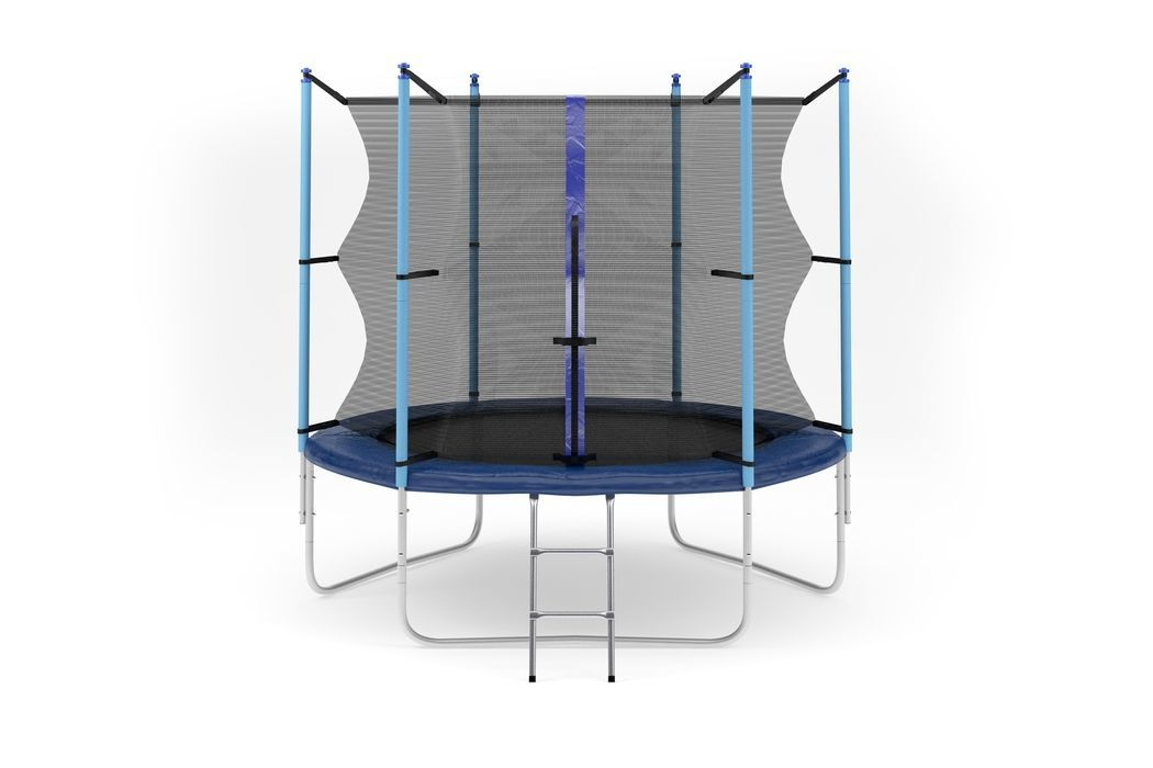 Батут Diamond fitness internal 8 FT (244 см) с защитной сеткой и лестницей