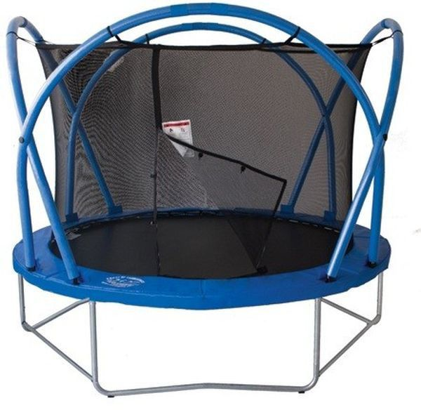 Батут Funtek//Active Fun AFT 12ft(3,6м) с защитной сеткой и лестницей