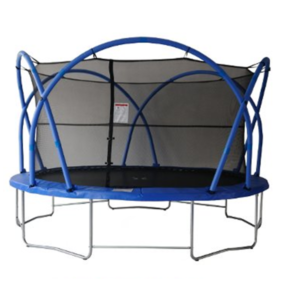 6 - Батут Funtek/Active Fun AFT 14ft(4,2м) с защитной сеткой и лестницей.