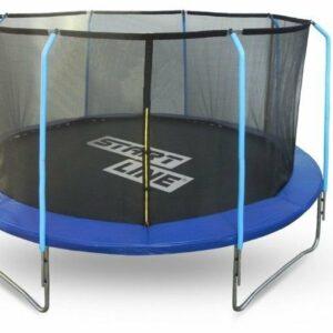 6 - Батут Start Line Fitness 12FT с внутренней сеткой и лестницей.