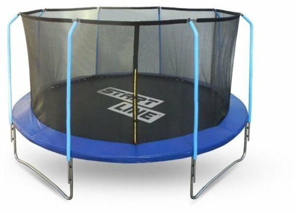 1 - Батут Start Line Fitness 12FT с внутренней сеткой и лестницей.