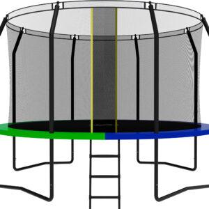 6 - Батут SWOLLEN Prime Black 12 FT.