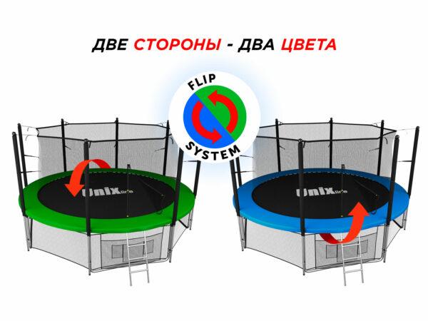 3 - Батут UNIX line 12 ft Classic (inside).
