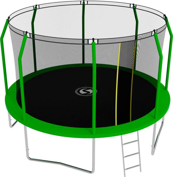 2 - Батут SWOLLEN Comfort 12 FT (Green).