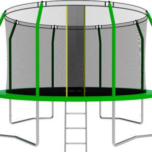 7 - Батут SWOLLEN Comfort 12 FT (Green).