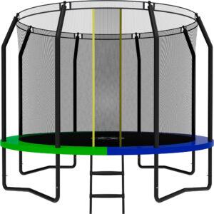 8 - Батут SWOLLEN Prime Black 10 FT.