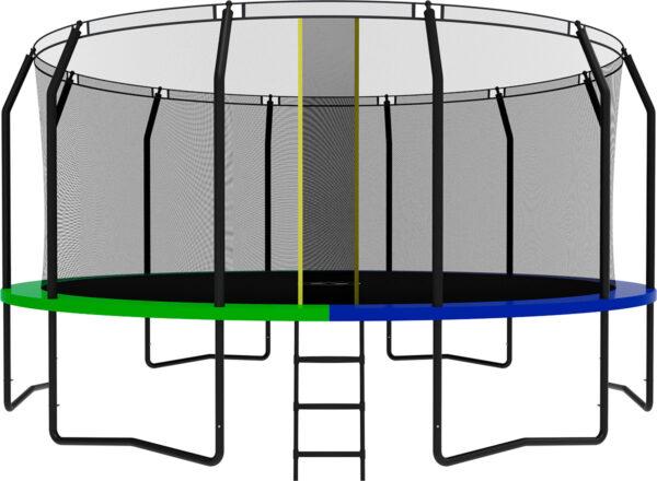 1 - Батут SWOLLEN Prime Black 16 FT.